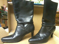 Size 10 leather boots