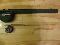 Sage VXP Fly Rod 4 weight with Lamson Konic Reel Like New