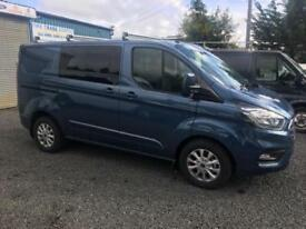 Ford Transit Custom Limited d/cab automatic gearbox 2018 68 reg