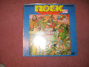 Iron Butterfly = Live Import LP Peterborough Peterborough Area image 1