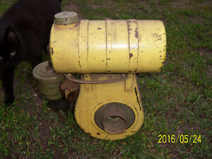 Old Briggs & Stratton gas motor.