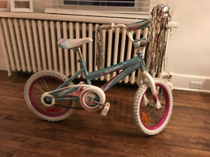 Supercycle Illusion girls bike - 16 inch tyres