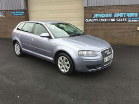 2006 Audi A3 1.6 AUTOMATIC 5 DR SPORTBACK,ONLY 88000 MILES WITH SERVICE HISTORY.