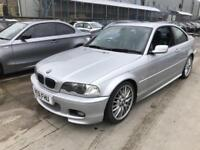 BMW 330 3.0 Ci Sport 2002 - 3dr Coupe - 231 BHP - 110K MILES - MANUAL