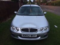 Rover 25 1.4 12 months MOT low milage 60k miles