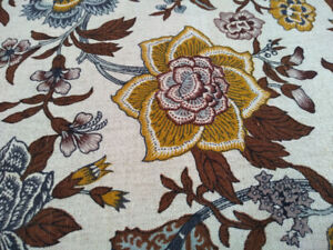 Floral upholstery fabric by Waverly