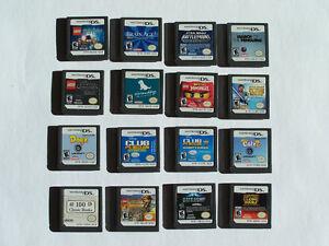 Jeux Nintendo Ds au choix