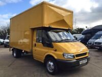MAN AND VAN IMAGINE TROUBLE FREE MOVING SERVICE SPECIAL OFFER FOR INTERNATIONAL MOVES LARGE LUTON