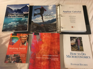 McMaster U First Year Textbooks