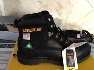 Caterpillar Steel Toe Boots Size 8W - Brand New!