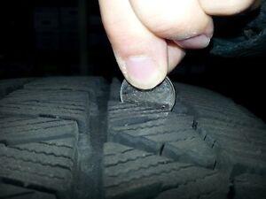VENDUS 4 Pneus d'hiver 235/45R17 XL 4 Winter Tires BLIZZAK WS 80 West Island Greater Montréal image 4