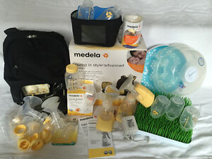 3 Medela Breast Pumps for the price of one! Over a $600 value!