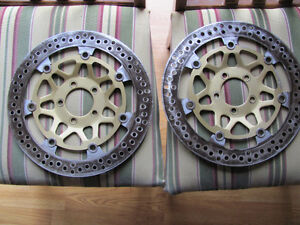 Front rotors, zx-9r 2001, 2000