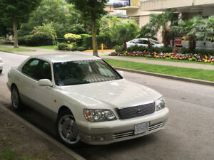 1998 Toyota Celsior (Japanese Lexus LS400) 46K KMs, Immaculate S