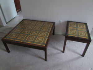 Denmark Rosewood coffee & matching end table