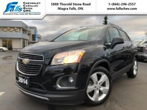 2014 Chevrolet Trax LTZ  SUNROOF,HEATED SEATS,REARCAM,REMOTE STA