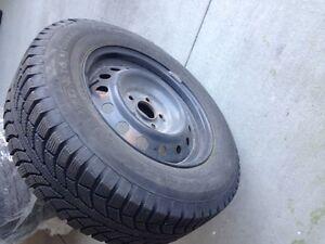 Yokohama Geolandar Winter Tires on rims London Ontario image 2