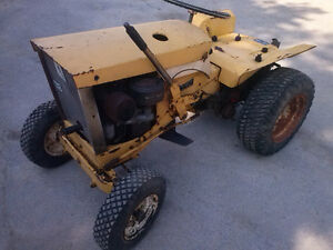 1960's Allis Chalmers B-10 with mower deck