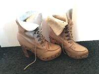Crafted boots (size 6)