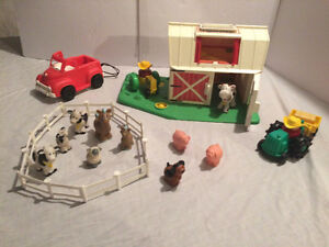 Ferme vintage Fisher Price Little People