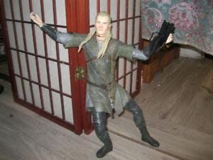 Legolas Action Figure+ Lotr coinz