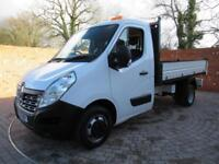RENAULT MASTER ML35 BUSINESS ONE STOP TIPPER 125 BHP 3 SEATS