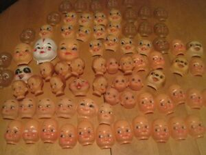 Vintage dolls and doll parts