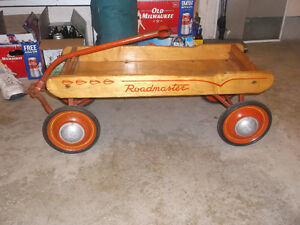 old wooden wagon excellent shape