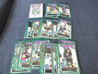 ONE-ON-ONE HOCKEY CARD GAME UNCOMMON SET