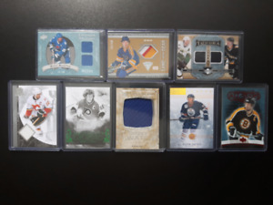 LOT OF 8 S/P's STARS NUMBERED OUT OF 50 OR LESS!