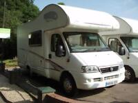 2006 Swift Sundance Lifestyle 4 /5 Berth Motorhome 2.8 Diesel (Very low mileage)
