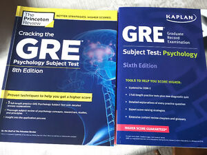 GRE Psychology Subject Test Study Guides