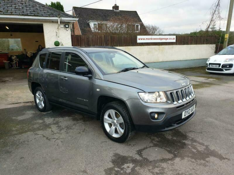 2012 12 Jeep Compass 2.2CRD ( 134bhp ) 2011MY Sport + | in ...
