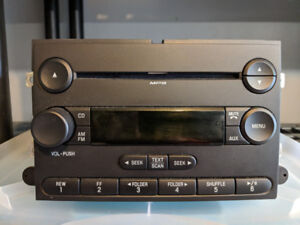 Stock F150 stereo