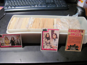 Box Full of Charlie's Angels Cards (1977)