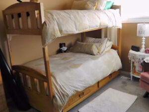 Dresser and Bunkbed