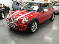 2006 MINI COOPER - CHILLI PACK - PANORAMIC ROOF - HALF LEATHER - PRIVATE REG
