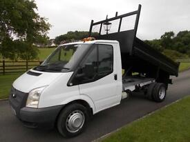 FORD TRANSIT 350 100PS TIPPER 14 REG ONLY 36000 MILES SIX SPEED