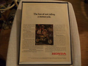 OLD  MOTORCYCLE ADS AND OTHERS Windsor Region Ontario image 1