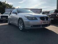 2005 BMW 5 Series 530d SE 4dr with leather and upgrade alloys 4 door Saloon