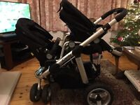 I candy pear double pram travel system