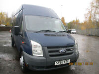 FORD TRANSIT LWB HIGH-ROOF WHEELCHAIR ACCESS MINIBUS £8995+VAT