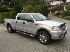 2008 Ford F-150 SuperCrew 4wd Pickup Truck