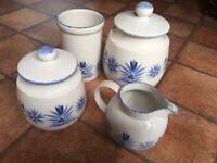 4 pieces of Vintage Ceramic kitchenware from St Michael Range 'Provence'