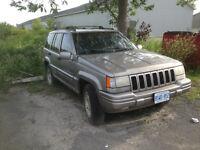 1986 Jeep Grand Cherokee SUV, Crossover