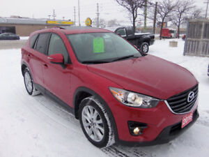 2016 Mazda CX-5 GT AWD  22 000km  with Navigation