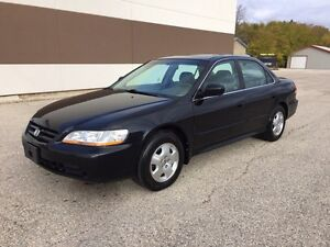 2001 Honda Accord - NO ACCIDENTS - heated leather seats - clean