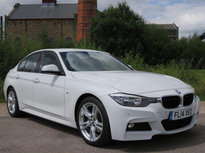 2014 14 BMW 3 SERIES 2.0 318D M SPORT 4D AUTO 141 BHP DIESEL