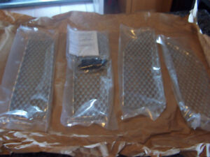 2005-2007 Dodge Magnum Speed Grille Inserts - Brushed Style