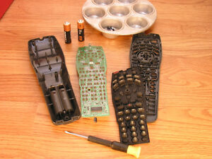 Remote control repair service: All makes and models, TV, Stereo